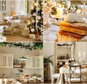 Minty Inspirations | wystrój wnętrz, dodatki i dekoracje do domu, zdjęcia, inspiracje: Bajkowy dom w śnieżnej szacie