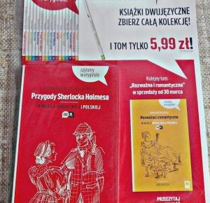 Tuczarnia Motyli: Książki dwujęzyczne