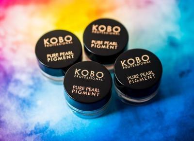 Kobieta mówi: Obsypana brokatem, czyli nowe pigmenty z Kobo